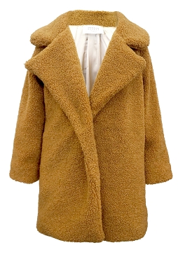 Hannah Banana Brown Oversize Coat
