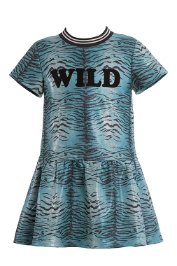 Hannah Banana WILD Animal Print Dress