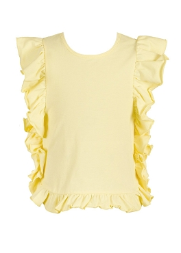 Baby Sara Yellow Ruffle Tunic IN STOCK
