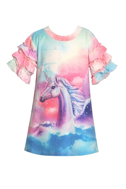 Baby Sara Unicorn Sweater Dress