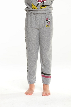 Chaser Minnie Mouse Lounge Pant Heather Grey