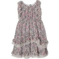 Isobella and Chloe Fleurette Dress Purple
