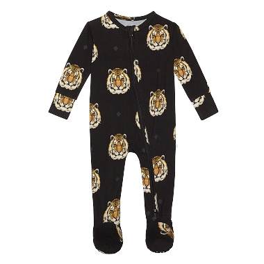 Posh Peanut Mateo Footie Zippered One Piece