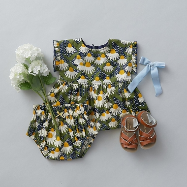 Pink Chicken Niley 2PC  Blues Daisy Dress