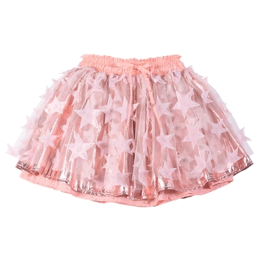 Paper Wings Pink Tulle Skirt Stars