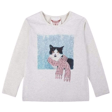 Paper Wings Winter Kitty Classic T Shirt