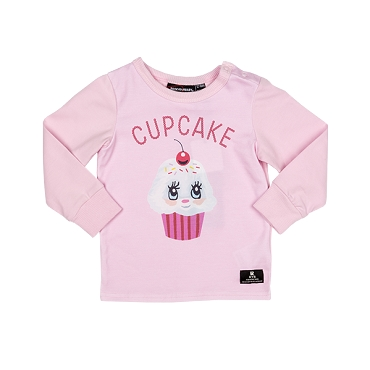 Rock Your Baby Cupcake Long Sleeve Tee Infant