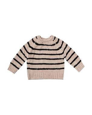 Rylee + Cru Oat Striped Chenille Sweater