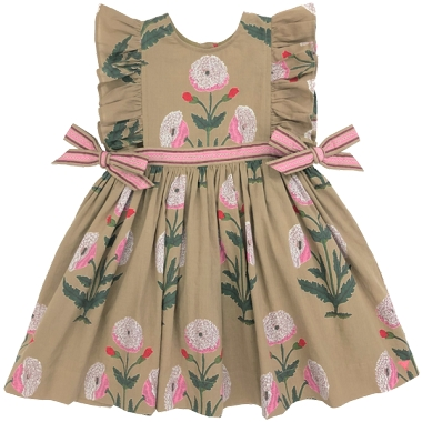 Pink Chicken Amy Dress Elmwood Dandelion