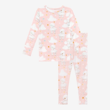 Posh Peanut Mary Long Sleeve Basic Pajama Set