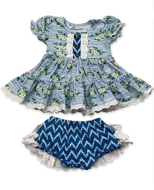 Mustard Pie Nautical Summer Lucy Dress Set