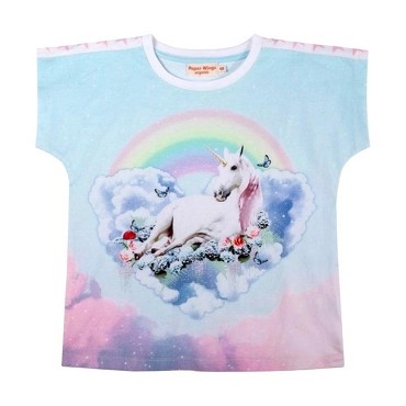 Paper Wings Unicorn Cloud Tee
