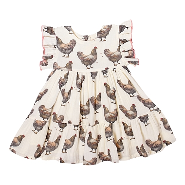Pink Chicken Kit Dress