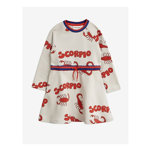 Mini Rodini Scorpio AOP Sweatdress