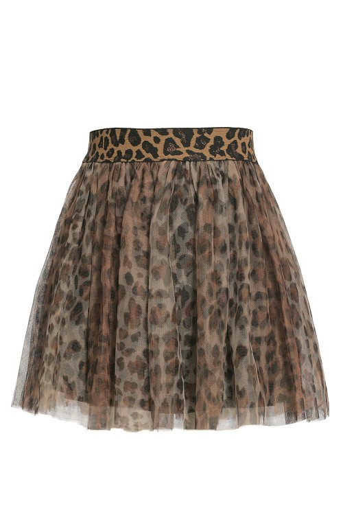 Hannah Banana Animal Print Tutu Skirt